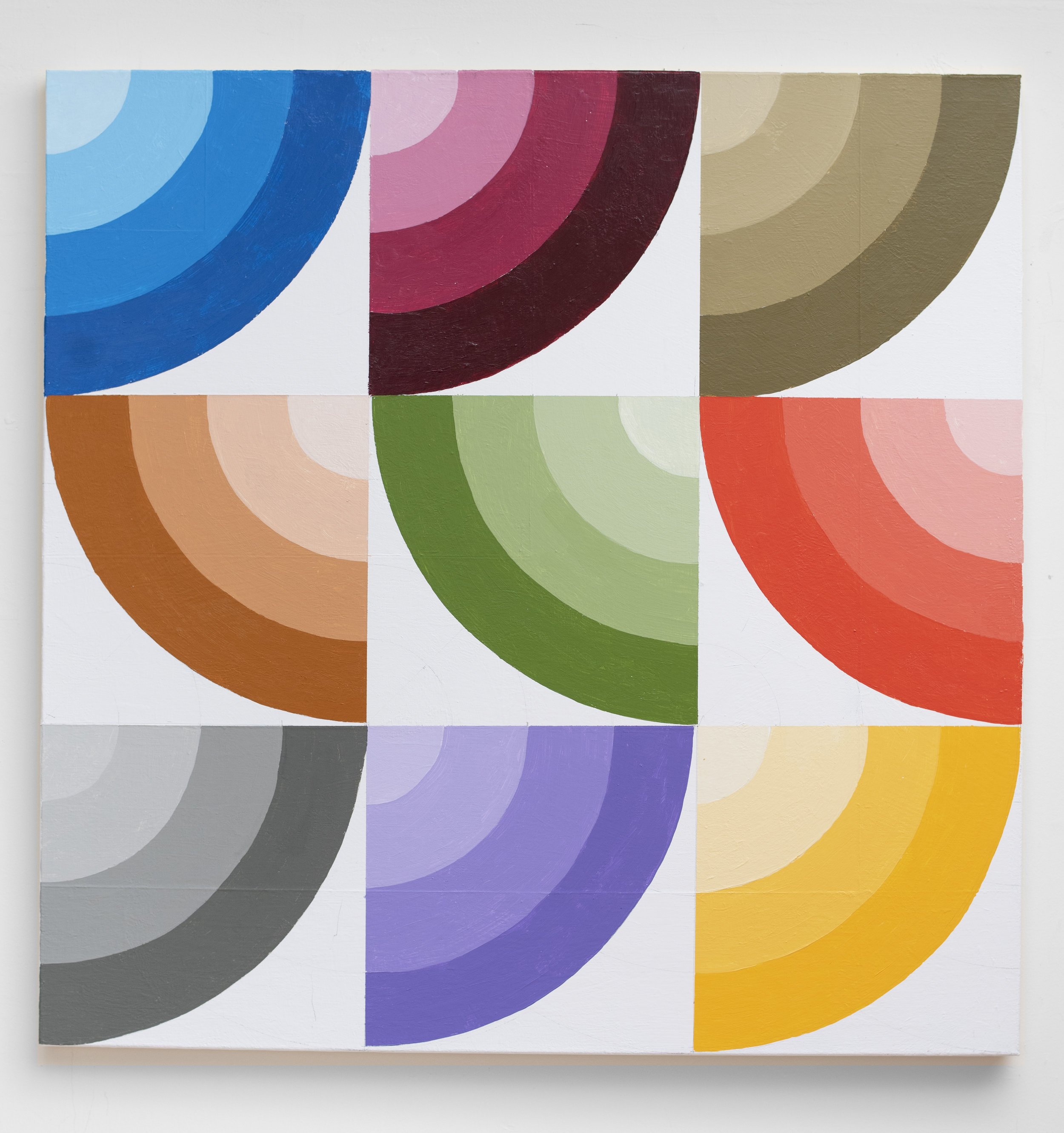 Curves in 6 colors