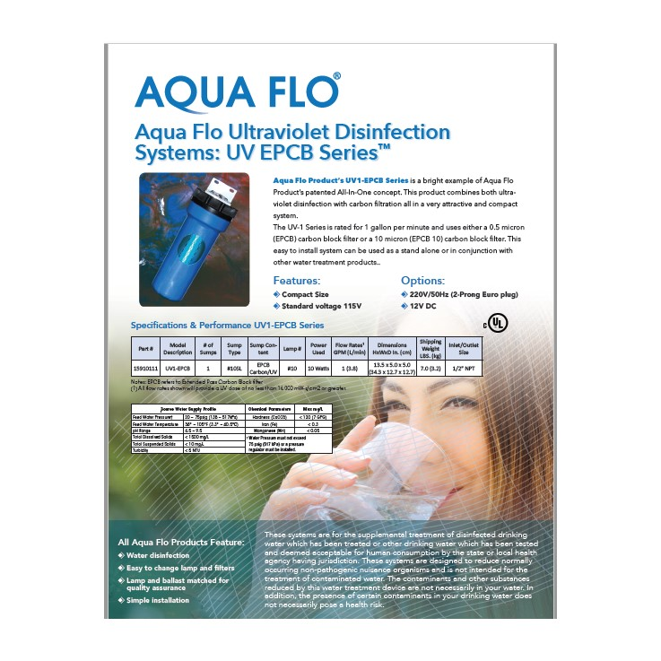UV Add-on Spec Sheet