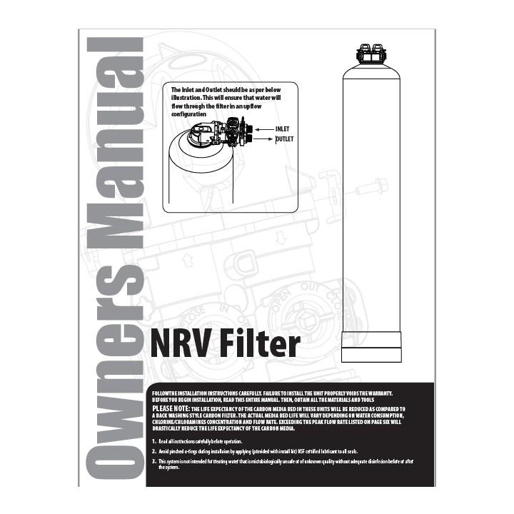 NRV Filter Manual