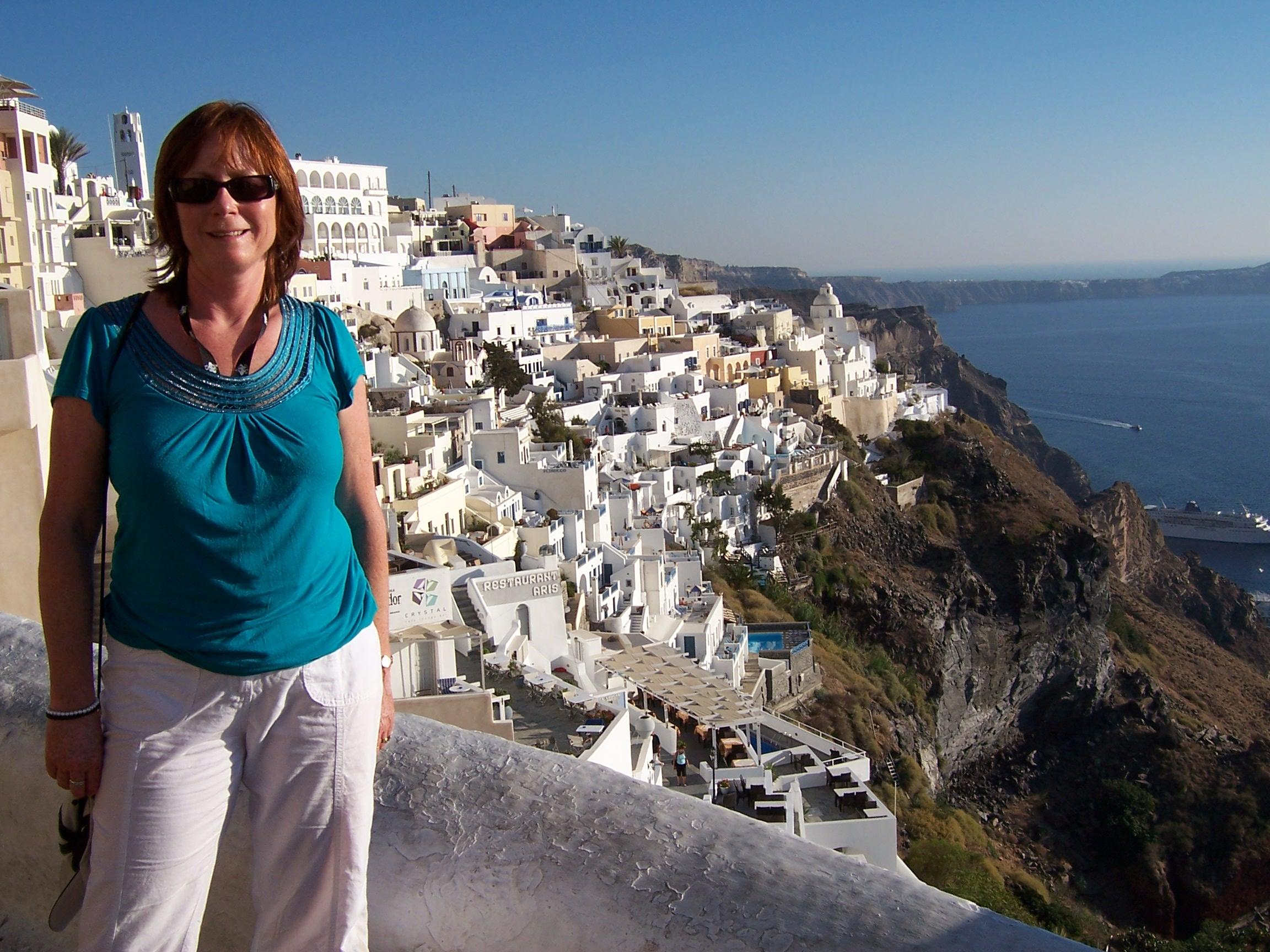 Sharon, Santorini, Greece.JPG