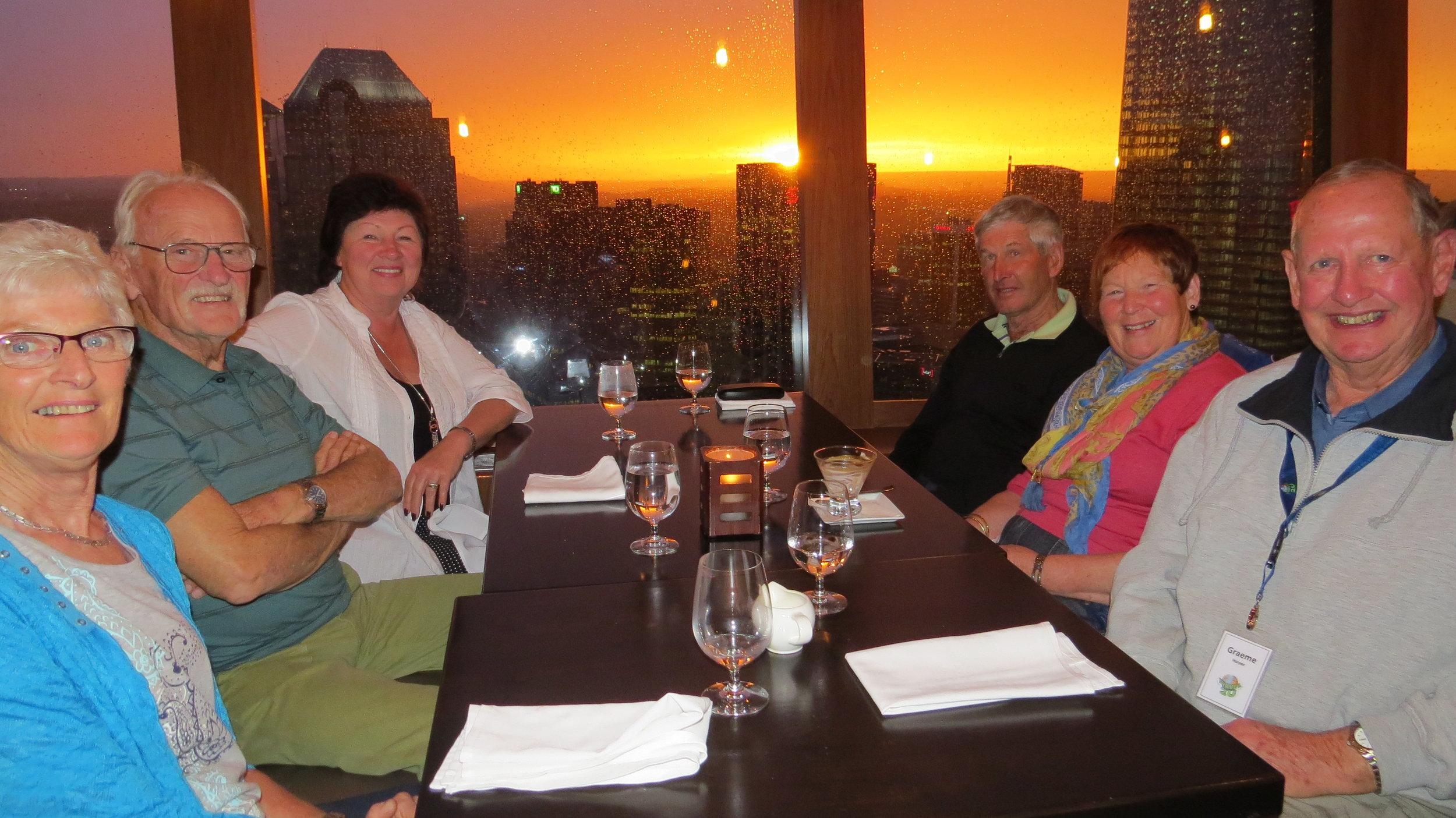 Calgary Tower Dinner