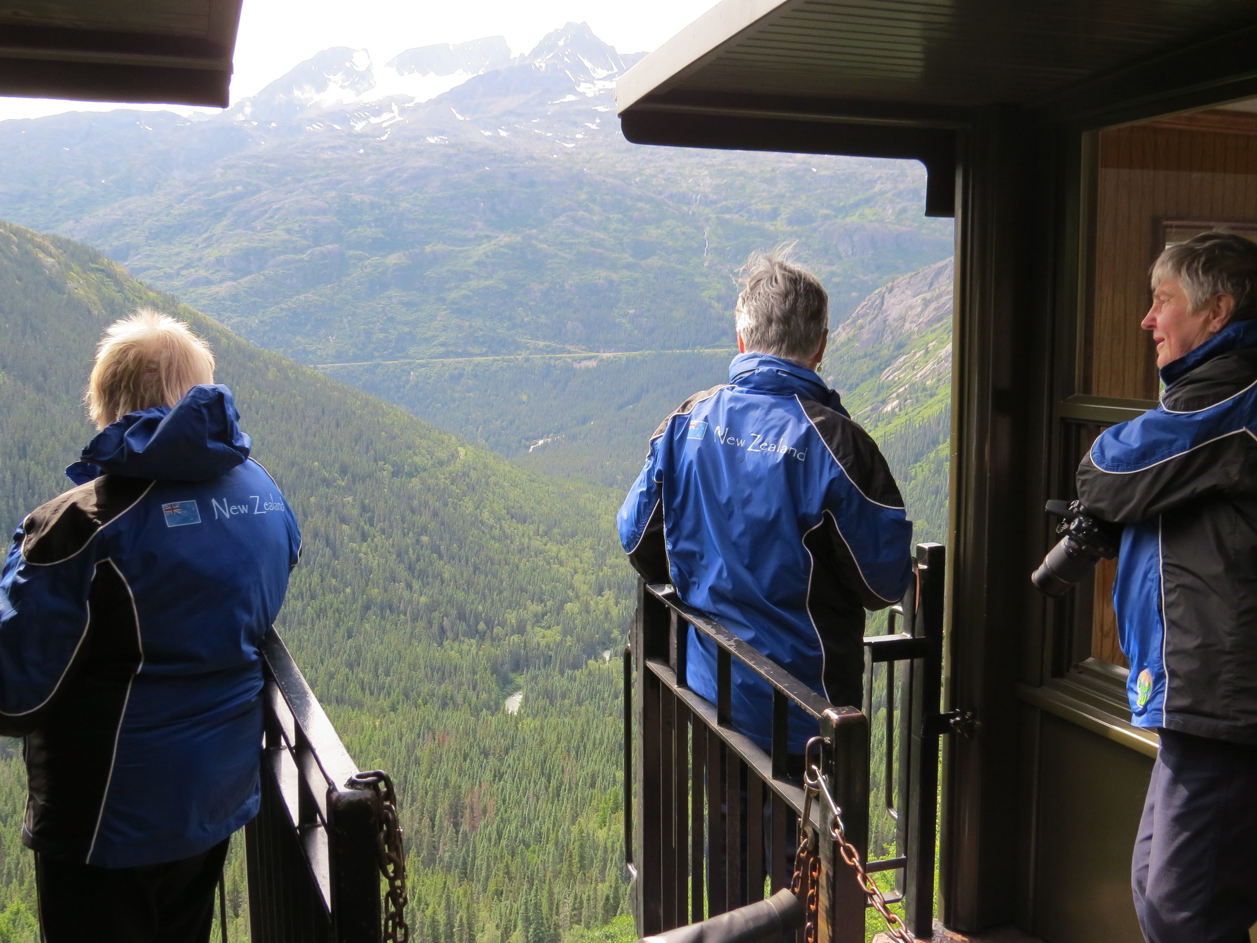 Yukon & White pass Railway Trip