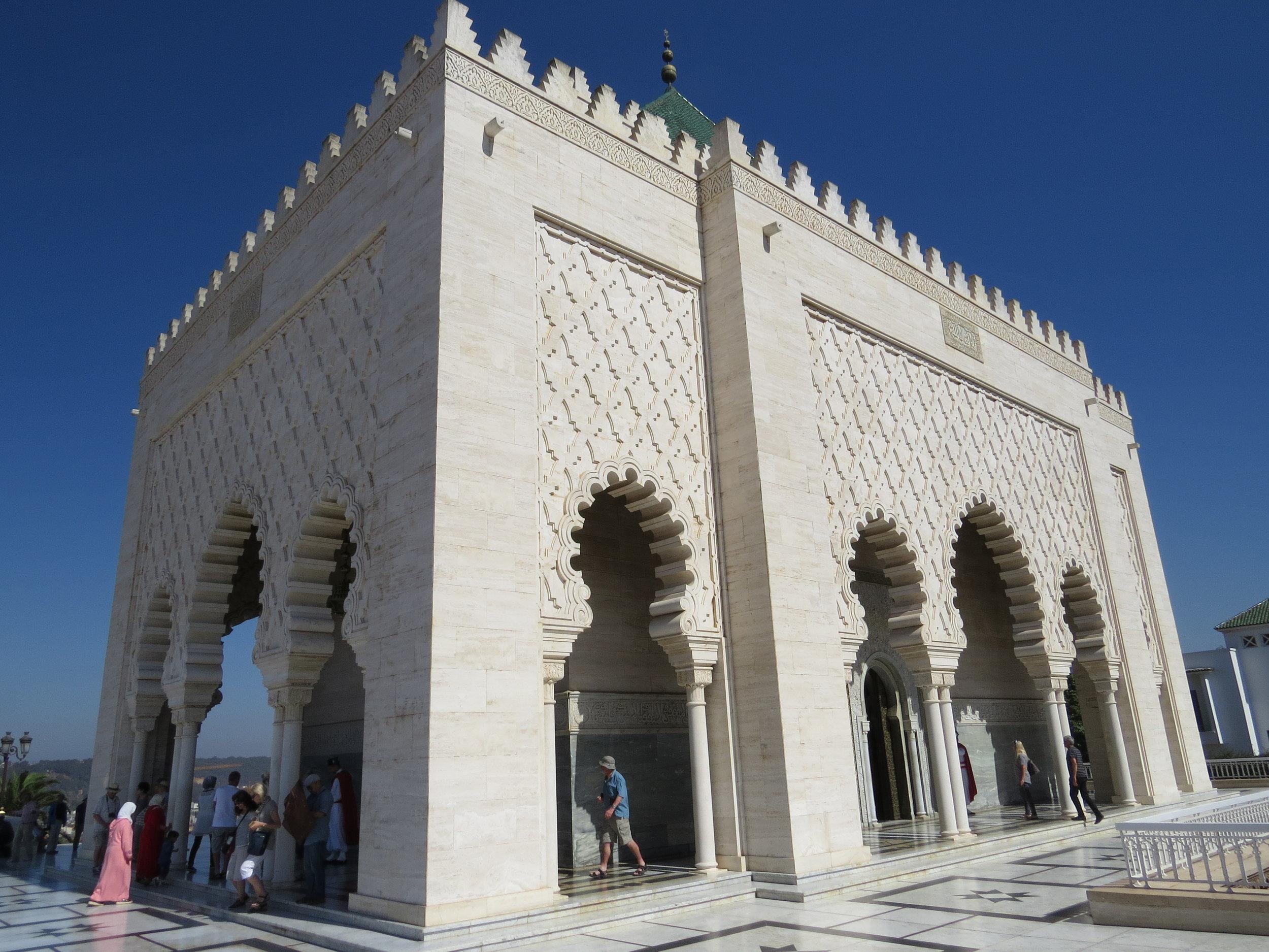 Rabat - King Hussan Mausoleum (5).JPG