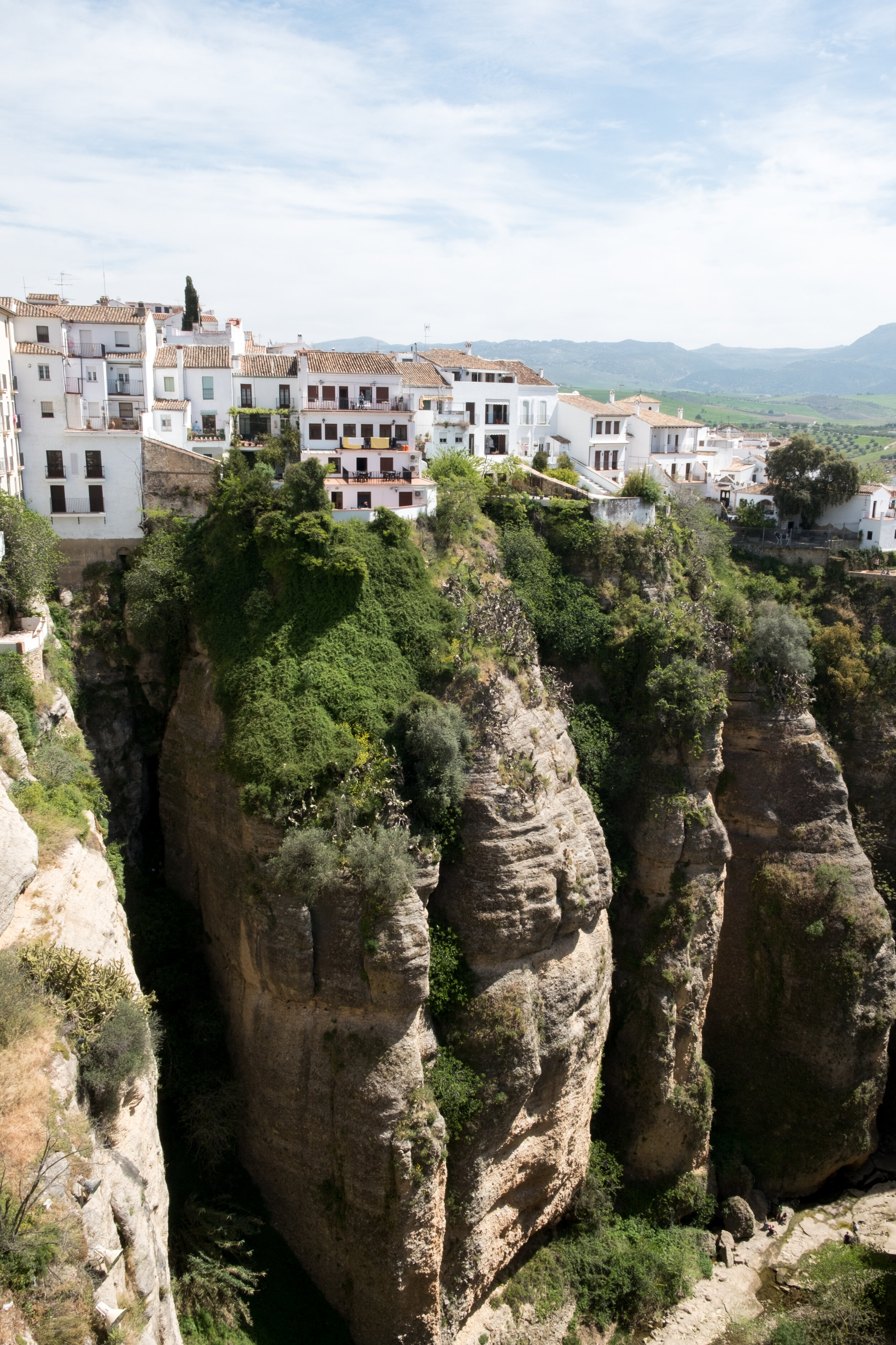RONDA - Malaga - Ronda is like a wonderful open-air museum and is by far the most spectacular town of the Malaga province. Behind every corner you'll find an alley that's even more enchanting than the previous one. It's one of oldest towns in Spain and is famous worldwide for its dramatic escarpments and the 100 meter deep El Tajo gorge.