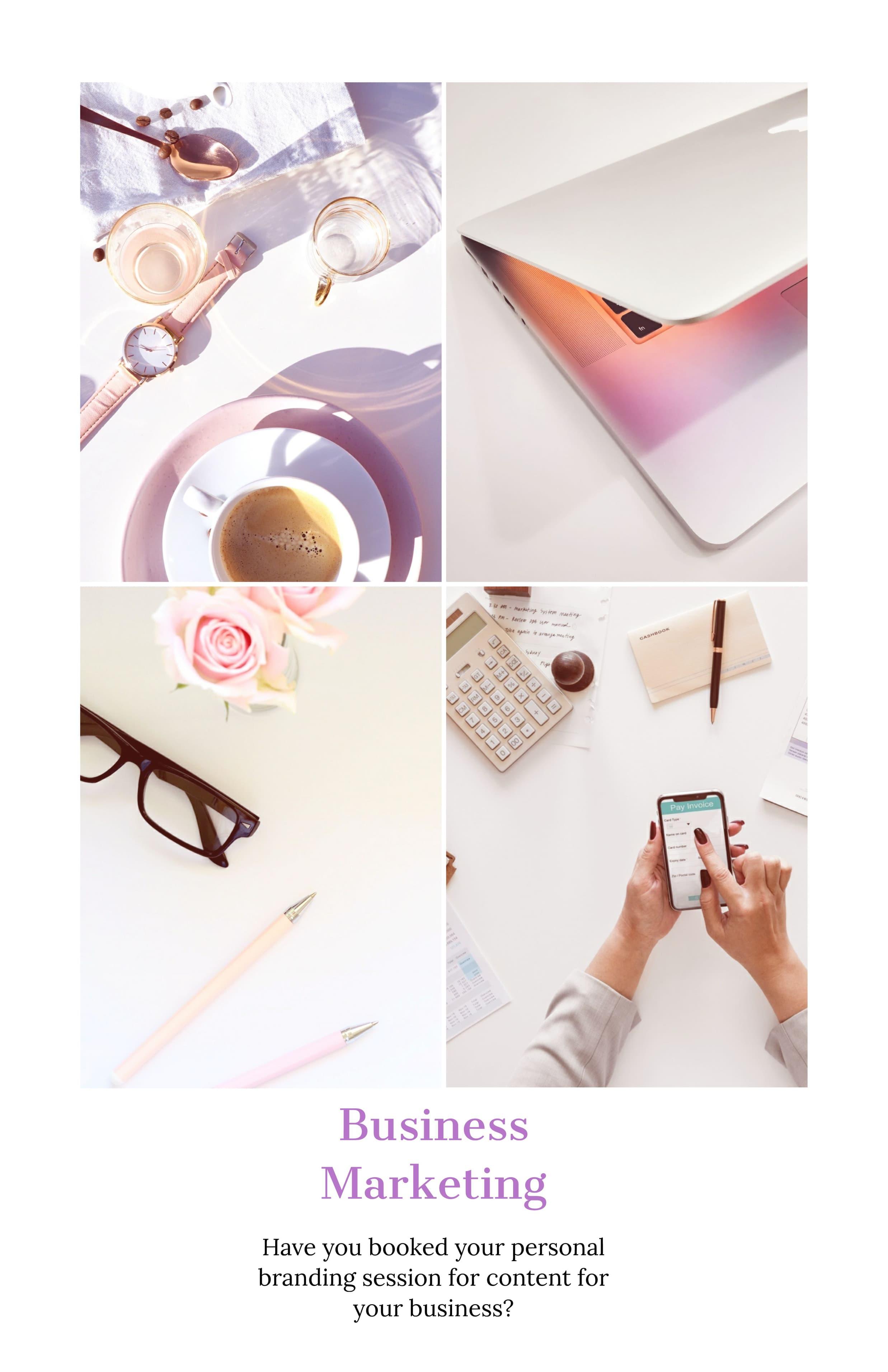 business and social media branding