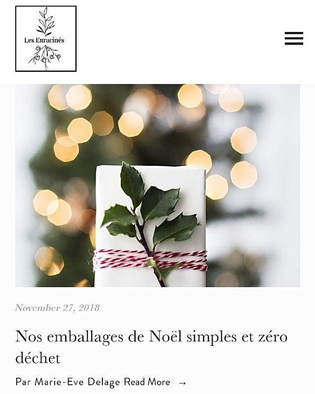 Un Noël blanc dans un esprit vert, c'est possible !  Tu te demandes par ou commencer, va sur la plateforme et consulte ce billet, ça va peut-etre t'aider.  https://www.lesenracines.ca/blogueenvironnement/  #enracinetoi#zerodechet#minimaliste#noel