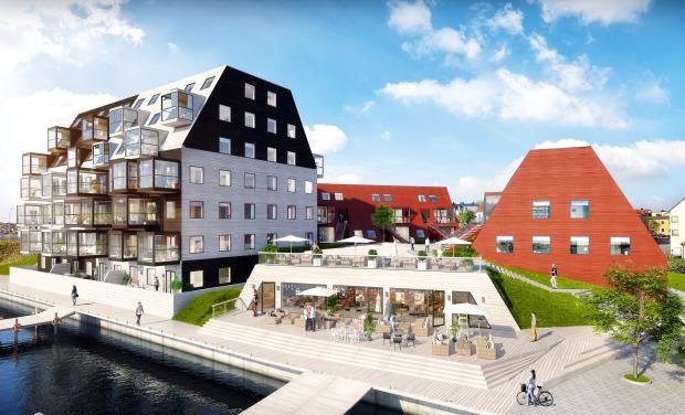 Kilströms kaj - Kilströms kaj är det nya bostadskvarteret som nu byggs i Karlskrona. Totalt byggs 46 lägenheter i tre separata trähus och en större restauranglokal i direkt anslutning till havet.