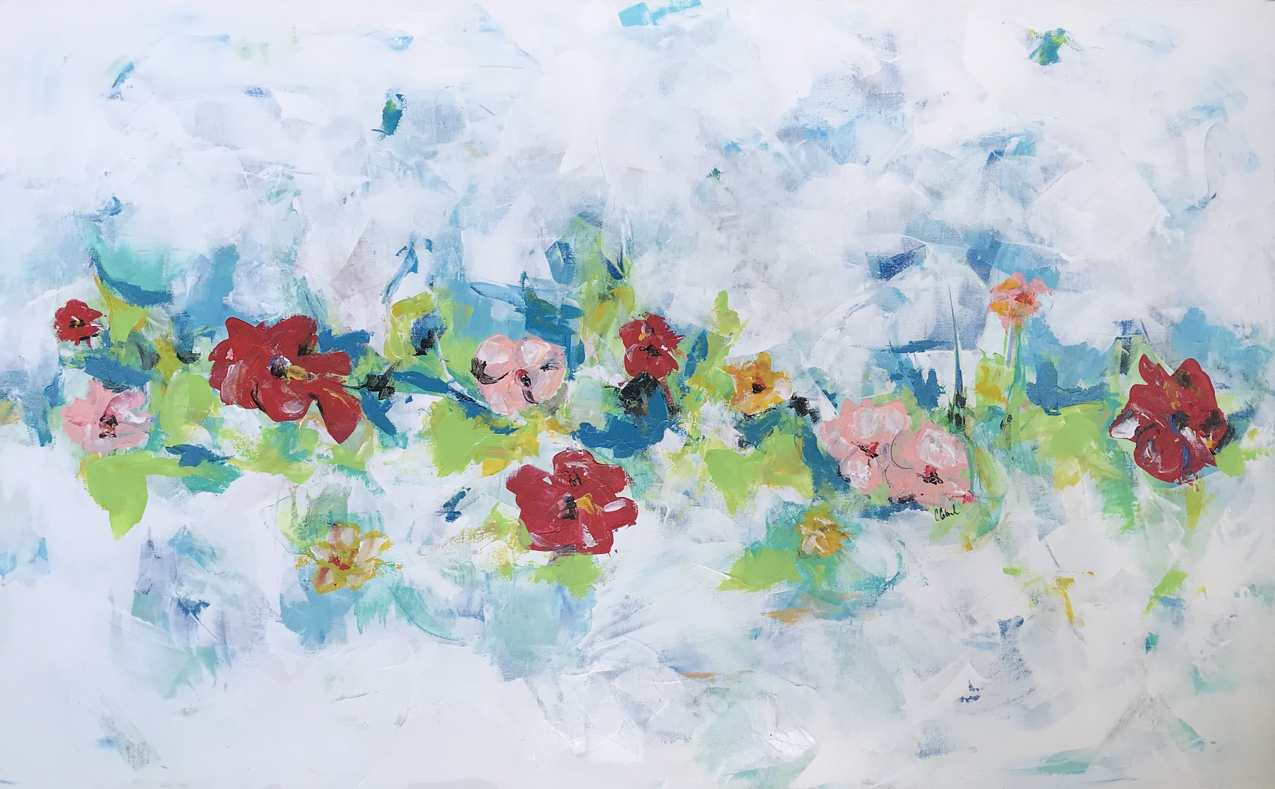 SECOND BLOOM 30X48-$550