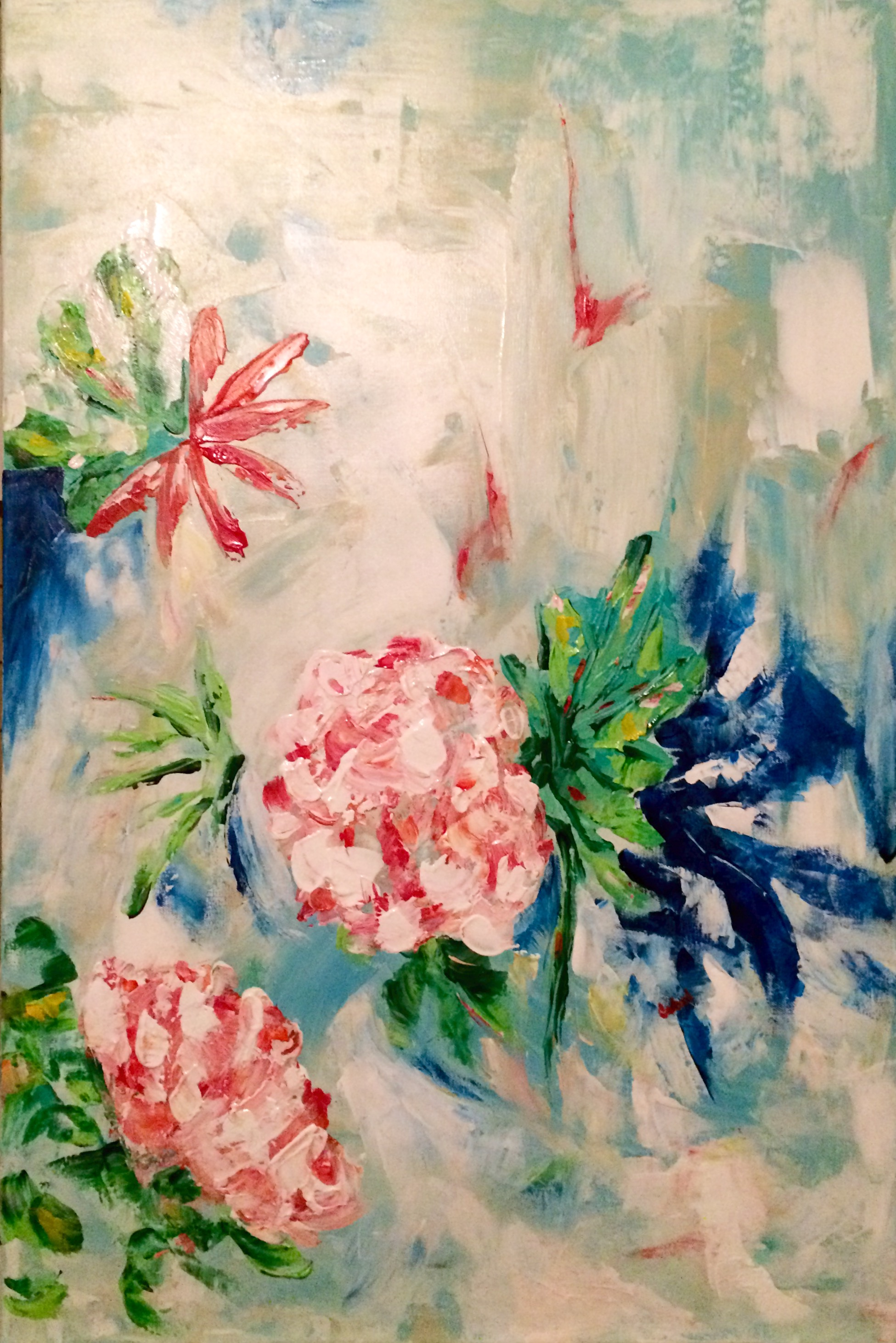 AERIAL BLOOM 24X36(SOLD)