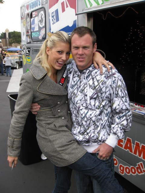 NHRA Pro Race Car Driver Leah and Peo Monster Truck D
