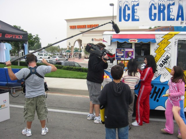 Food Channel Filming