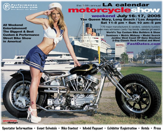 La Calendar Motorcycle Show