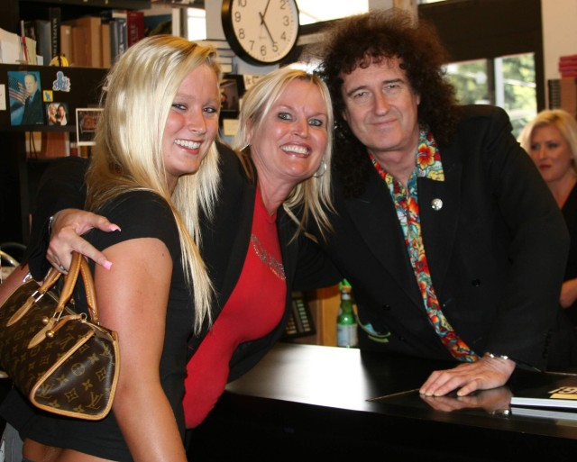 "Brian May from Queen ""Bang"" Book Signing at Book Soup, Hollywood,CA"