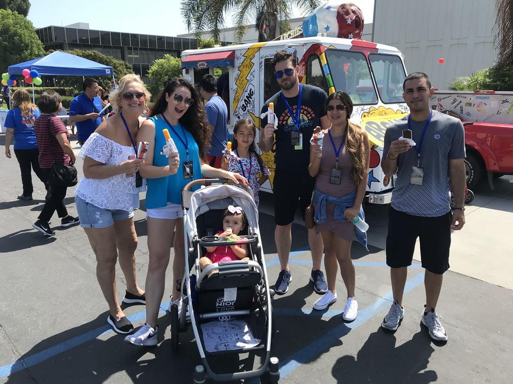 Northrop Grumman 5,000 Ice Cream Party Redondo Beach,CA – Sept 8 18
