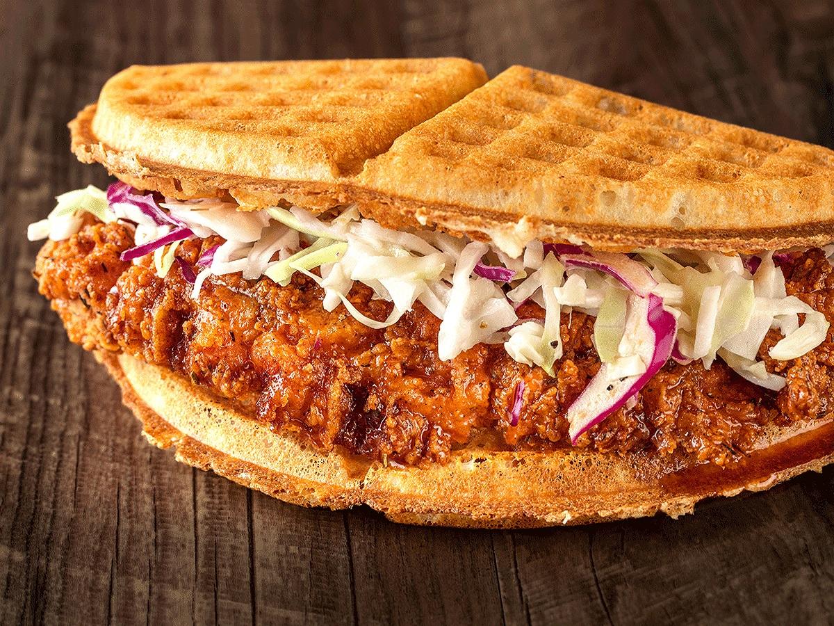 The Original - Fried Chicken & WafflE Sandwiches