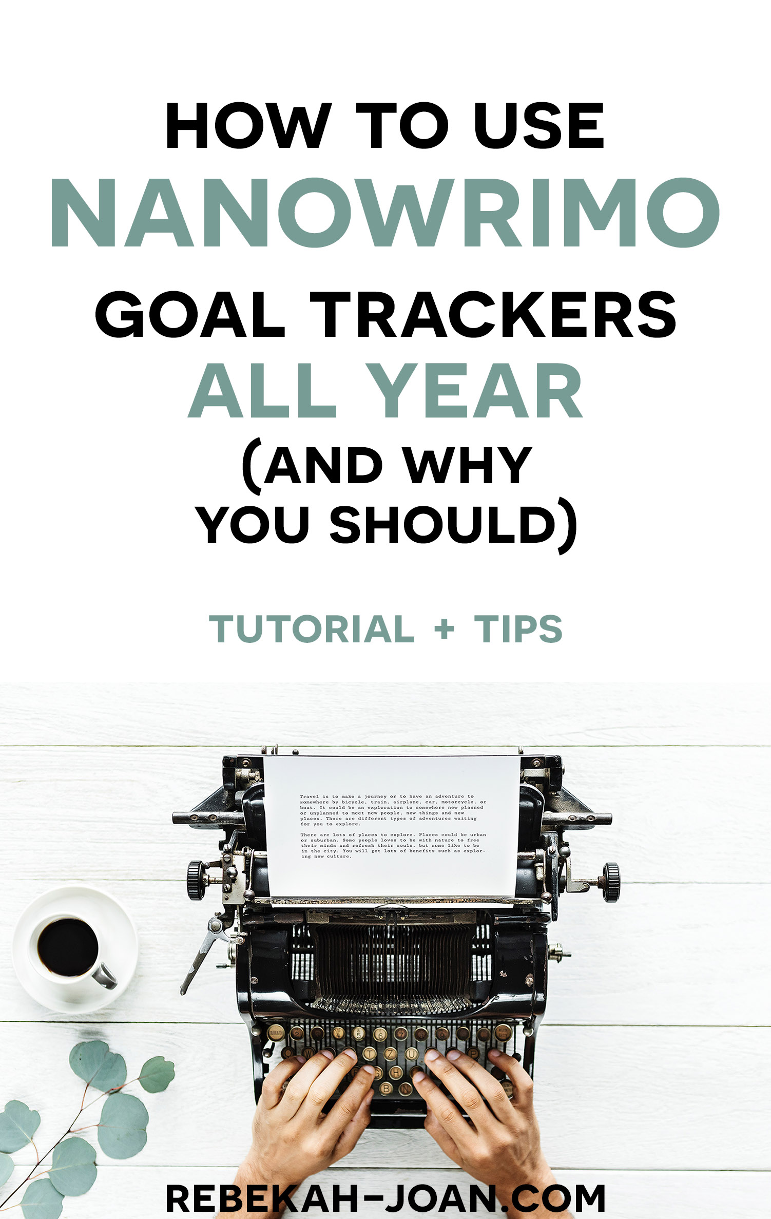 - December hits before you know it, and you're thrown out of your happy National Novel Writing Month bubble. Even after November, keep up on your stats with this one trick.