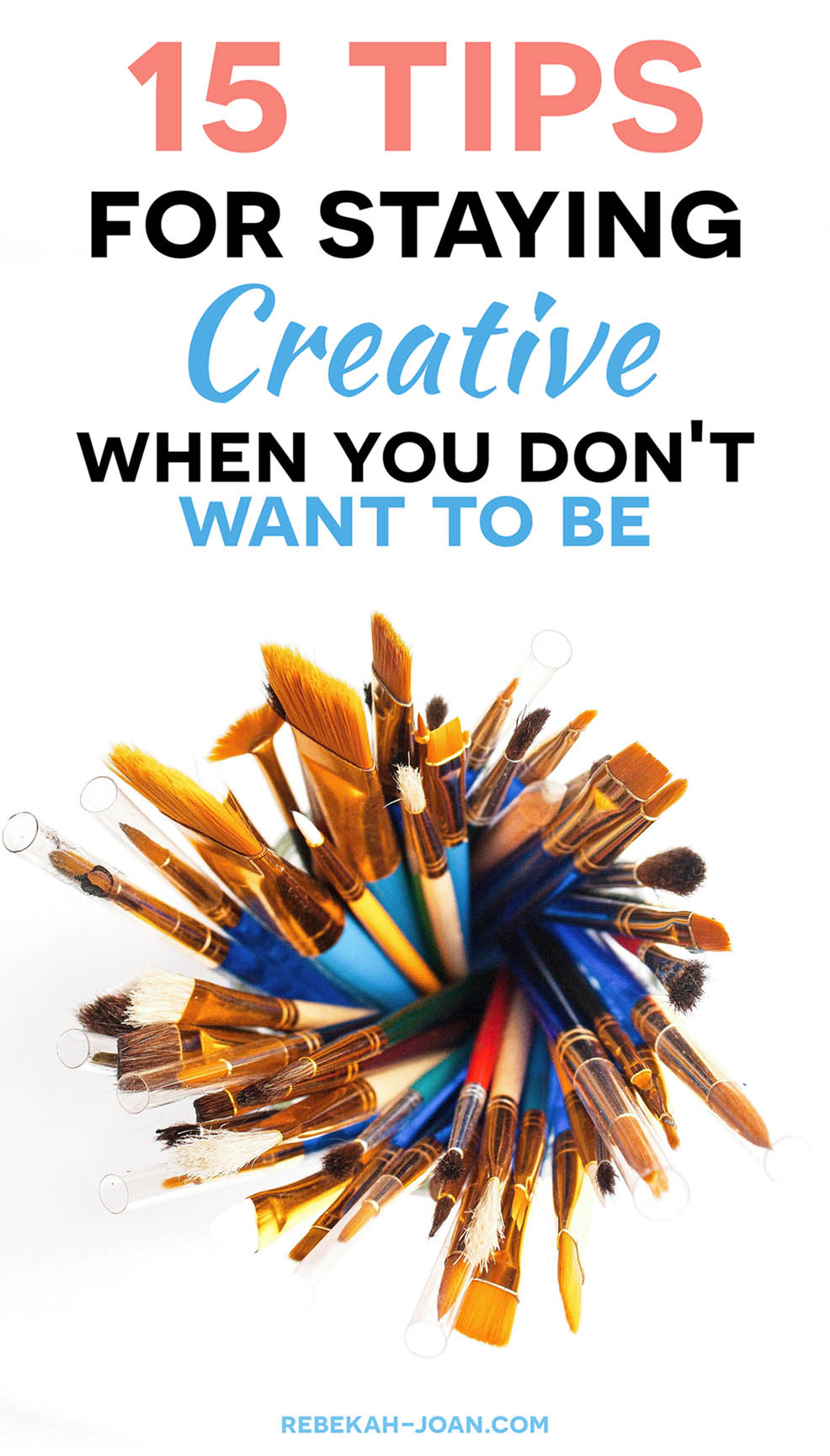 - As creatives, it's not always easy to stay motivated. We find ourselves searching for inspiration only to end up wasting our time. Today, I'm giving you my top tips for harnessing your creativity and putting it to work.