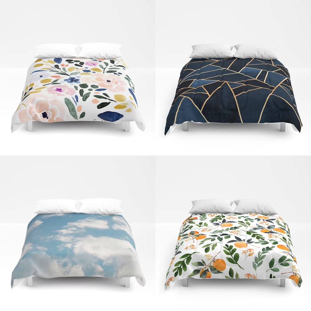 My Favorite Society6 Duvet Covers and Comforters - 25% off student discount
