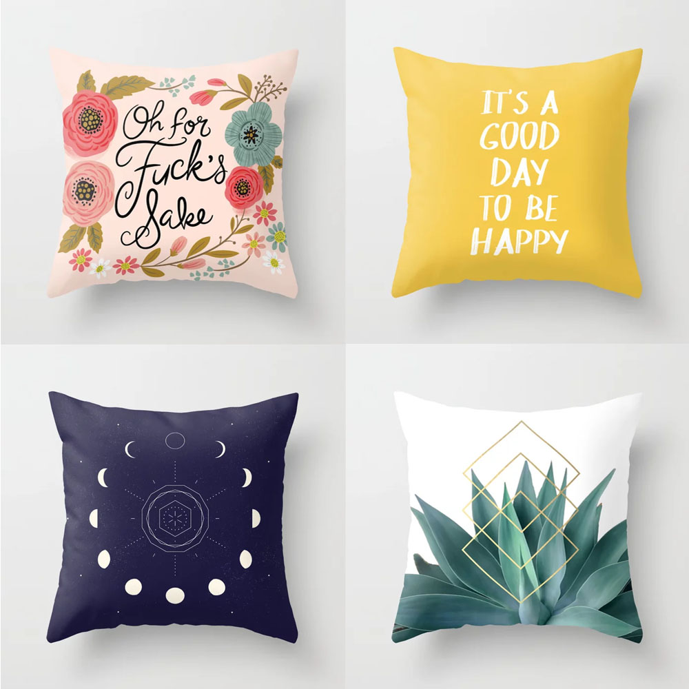 Society6 Throw Pillows
