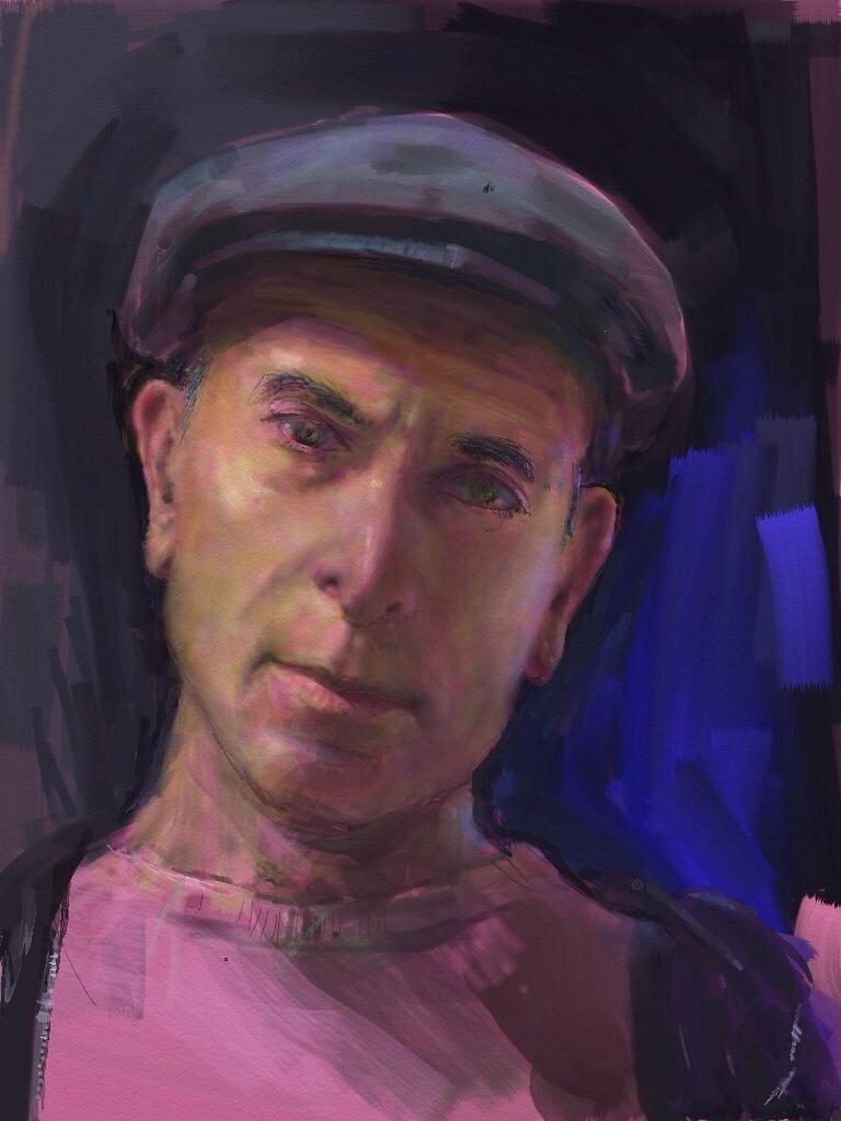 Digital Self-portrait. Art Rage