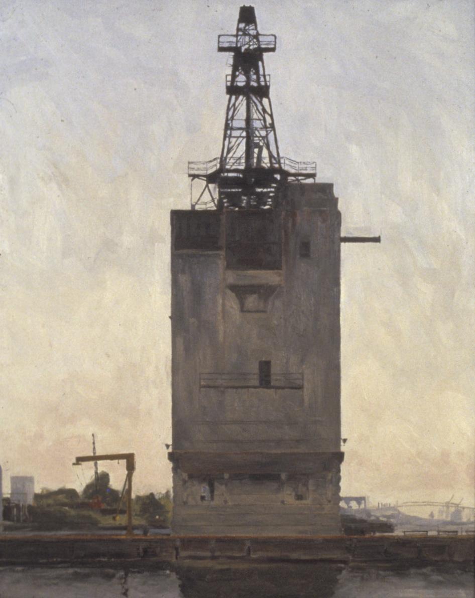 Peco Coal Building Oil on panel 36x24.jpg