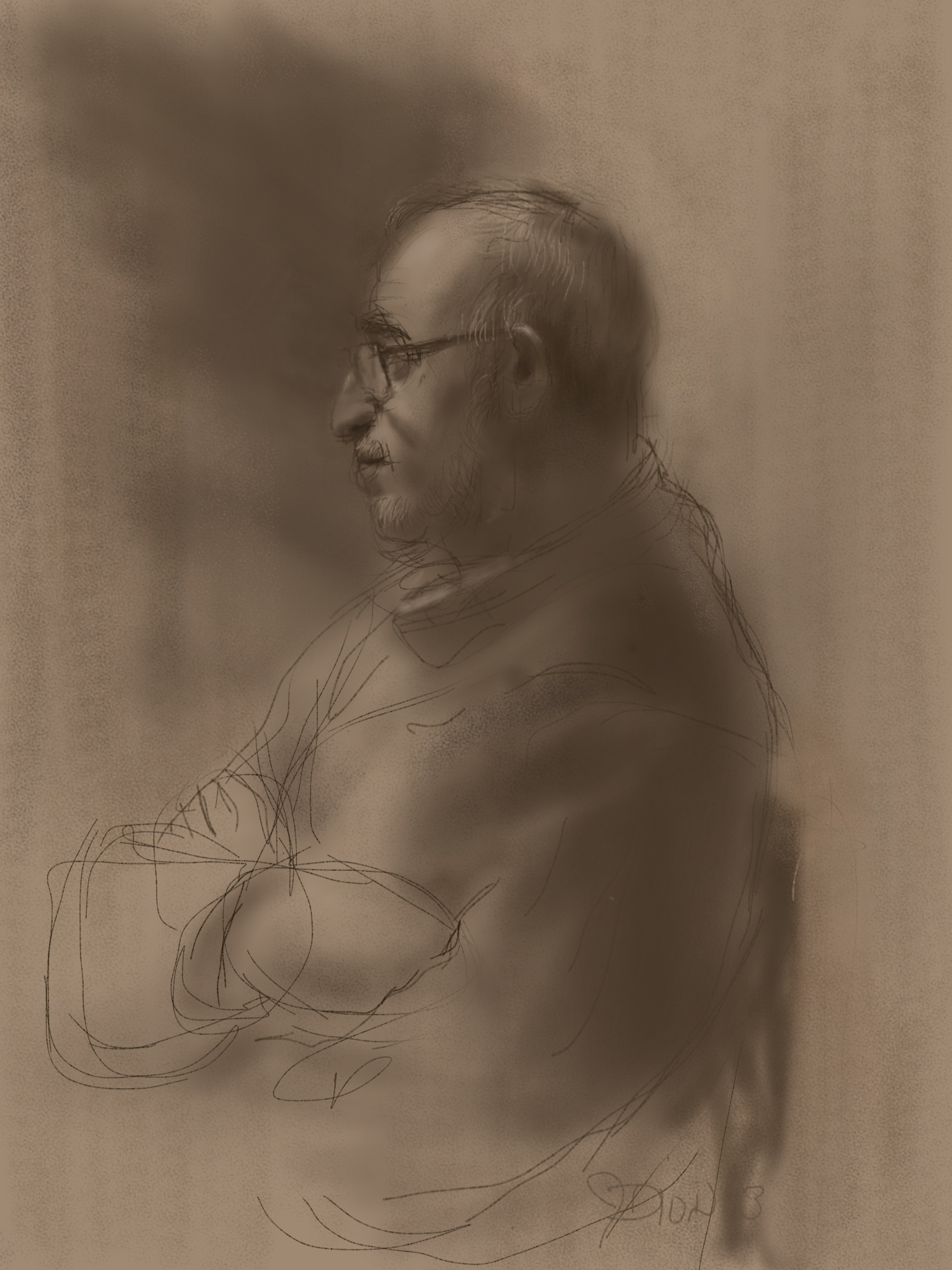 Drawing of the Artists father - Sketchbok Pro.JPG