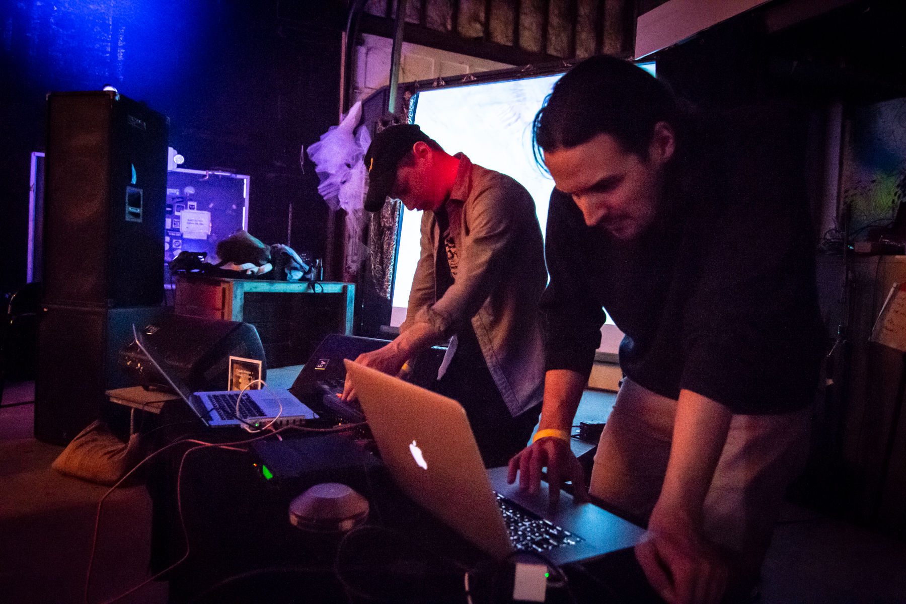 Prism House and Matt O'Hare performing at 'Performance is Alive' at SXSW in March of 2019