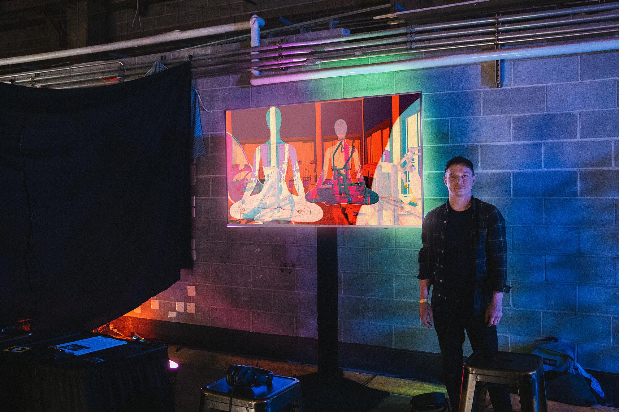 'Separator' at Satellite Art Fair (October, 2019)