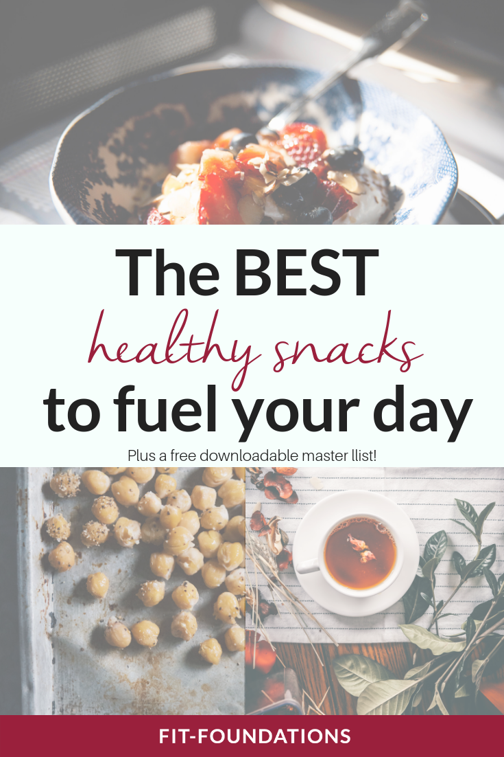 healthy snacks for energy between meals