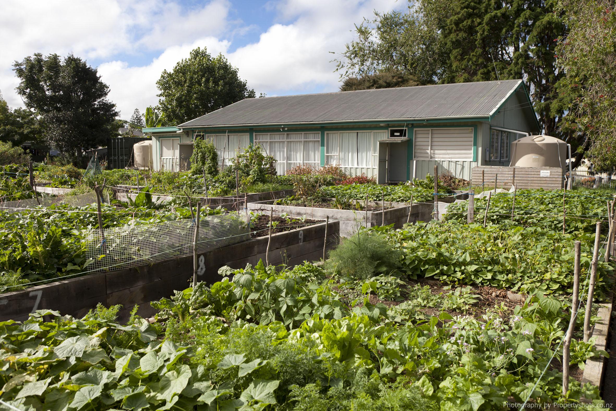 Langimalie community garden centre