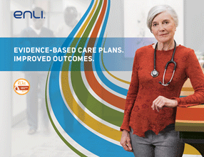 Creative Concept - The brand expression tells the story of how Enli helps providers achieve better outcomes for everyone