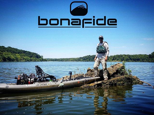 The Reel Down host @bradhixfishing showing off his Bonafide the best way he knows how. Shout out to @jmarshfishing for the epic photo capture. #Bonafide #BonafideSS127 #kayak #kayakfishing #kayakangler #kayakangling #kayakfisherman #kayakbassfishing #KBF #lake #lakefishing #bassfishing #ohio #ohiofishing  #fishing #angler #angling #fisherman #PaddleNFin #beauty #beautiful #nature #outdoors