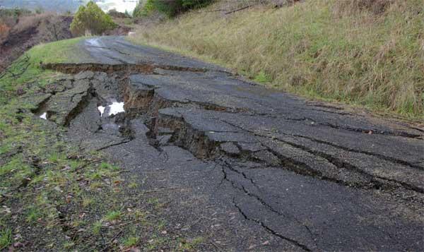 ex. sunken Road bed