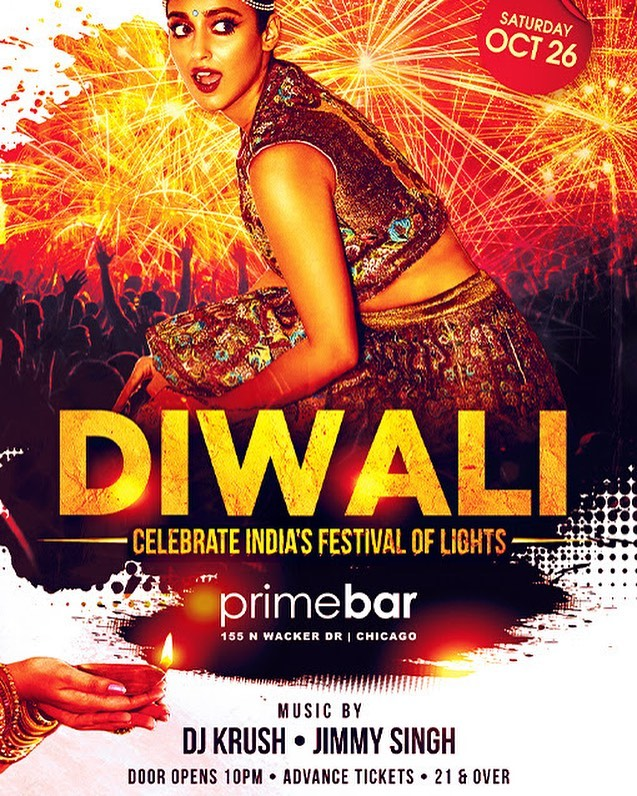 Each year on the dawn of new moon, the glittering oil lamps, the dazzling fireworks, sounds of firecracker announces the arrival of the most vibrant festival of India- Diwali. Please join us on Saturday, October 26 at Primebar to celebrate this joyous occasion. We are expecting a sold-out night, so please buy your tickets in advance.  #diwali #festivaloflights #indianparty