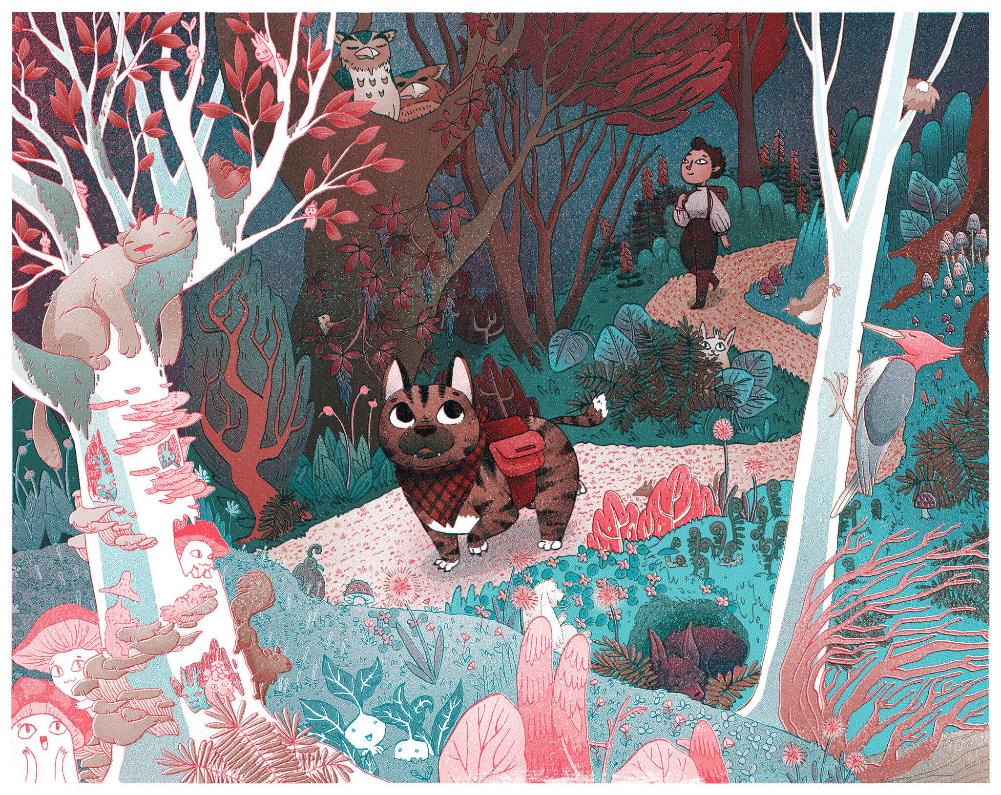 forest faked riso v2.jpg