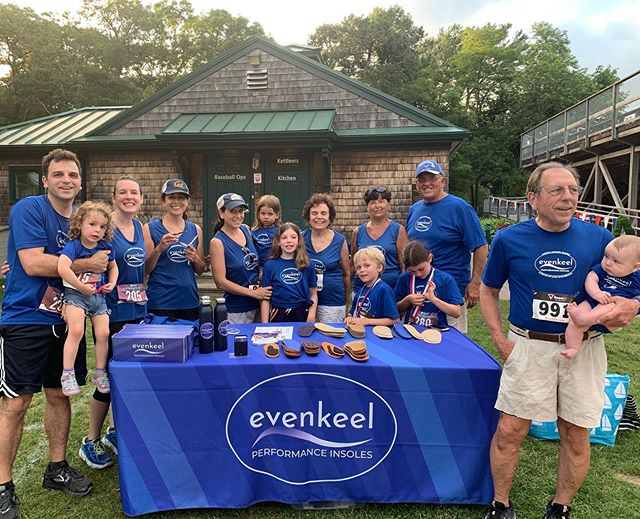 Team EvenKeel at the Cotuit Firecracker 🧨 5K