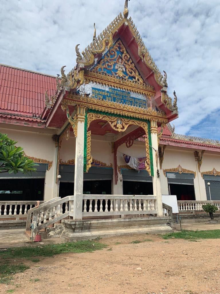 Beautiful Buddhist temple in walking distance!