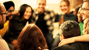 Peer support - Developing a lasting engagement with the recovery community.