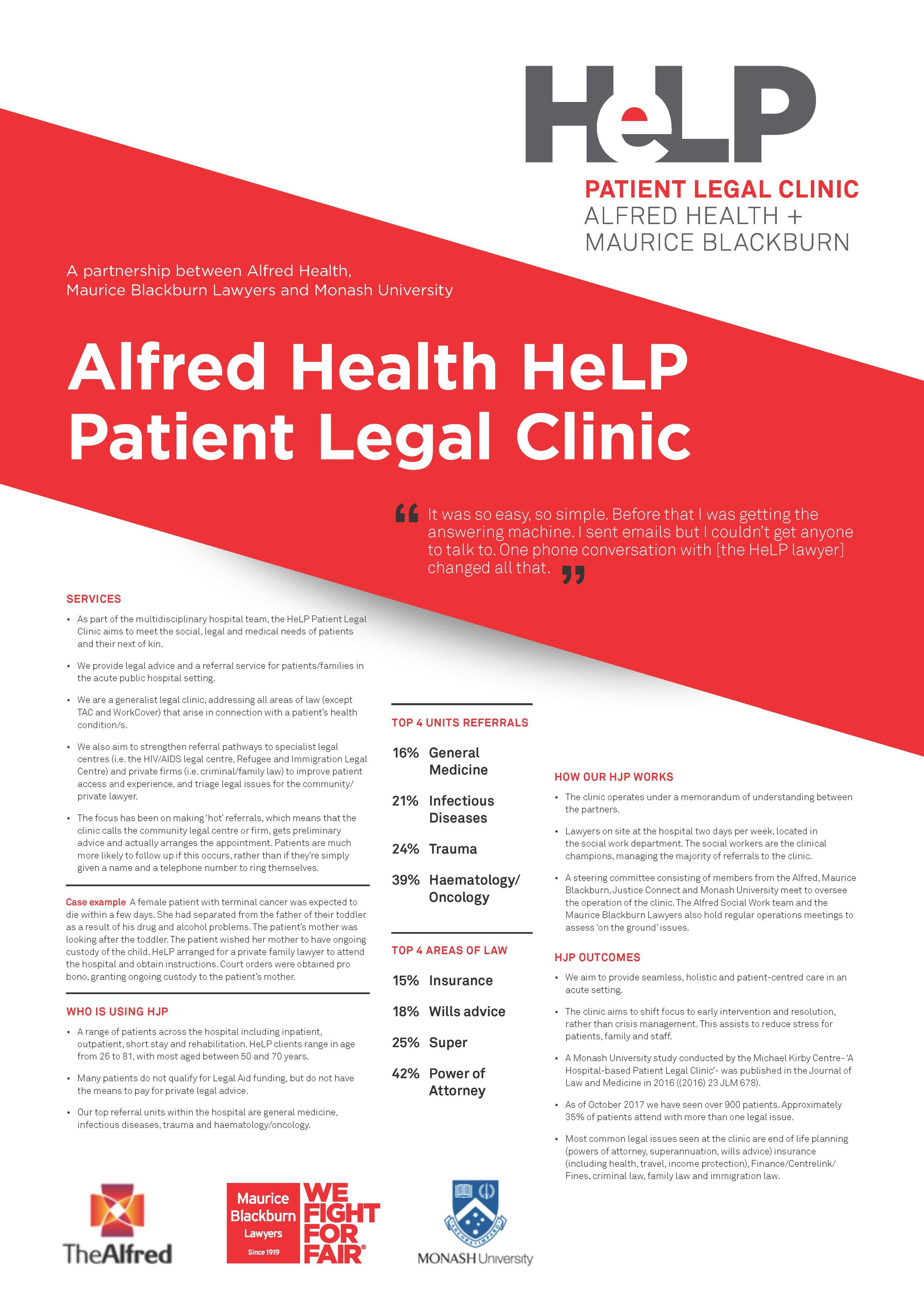HJP Poster - HeLP - Patient Legal Clinic - permission received.jpg