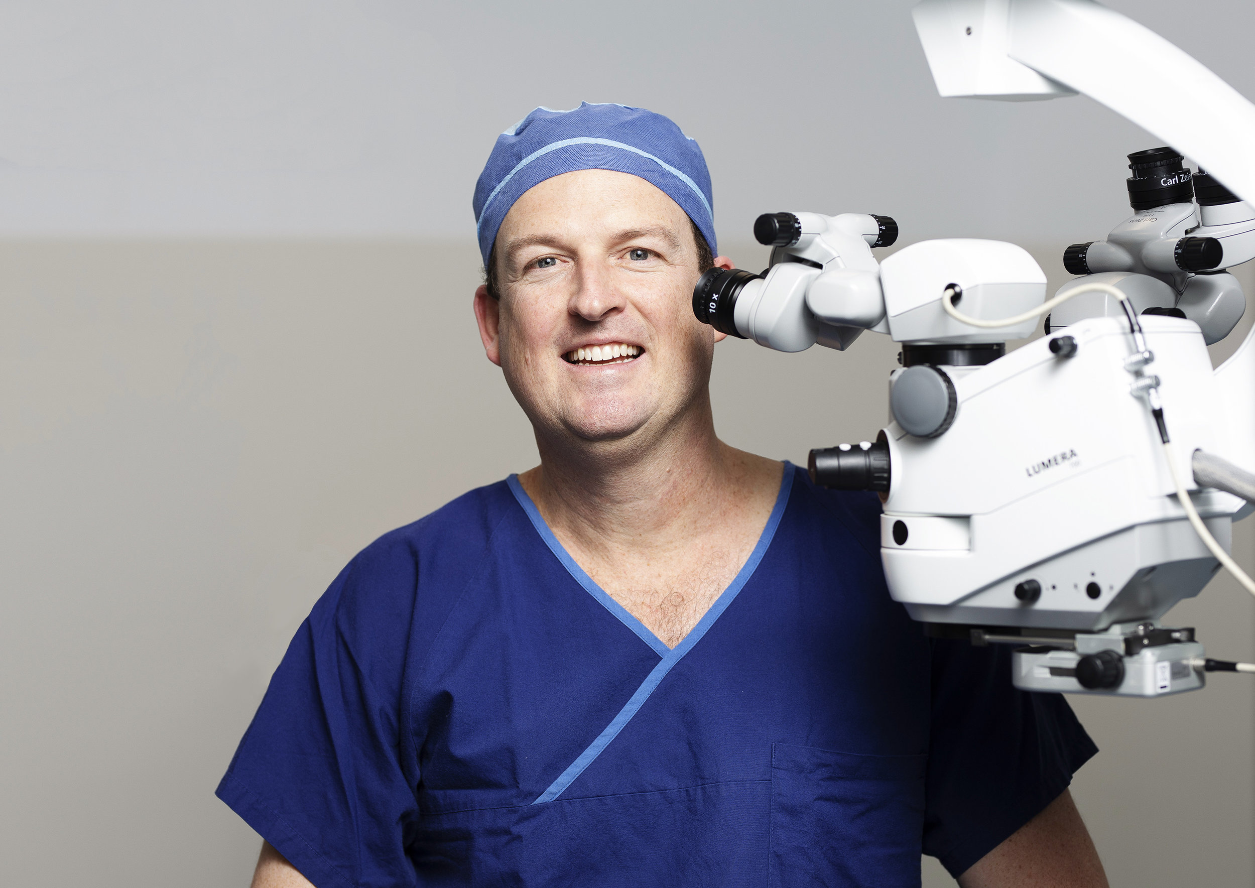 Dr Brendan Cronin Brisbane Ophthalmologist Queensland Eye Institute Laser.