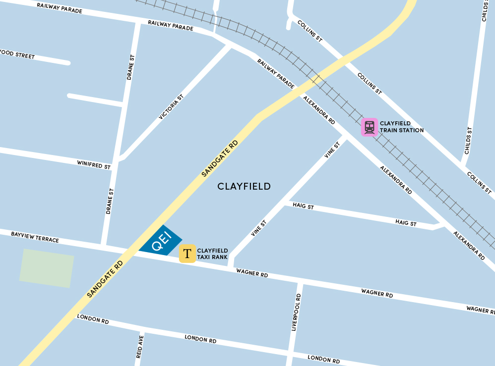 Queensland Eye Institute Clayfield Location - Click for Google Maps