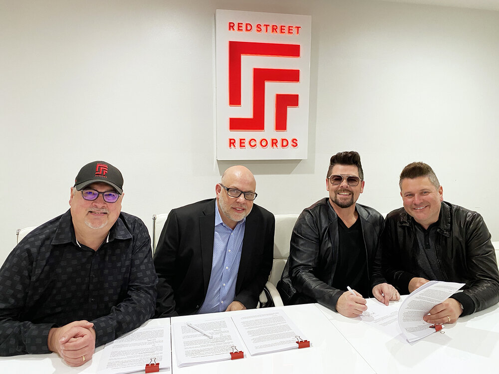 L-R: Don Koch, Mark Lusk, Jason Crabb, Jay DeMarcus