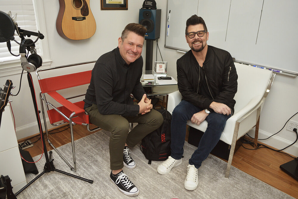Jay DeMarcus and Jason Crabb