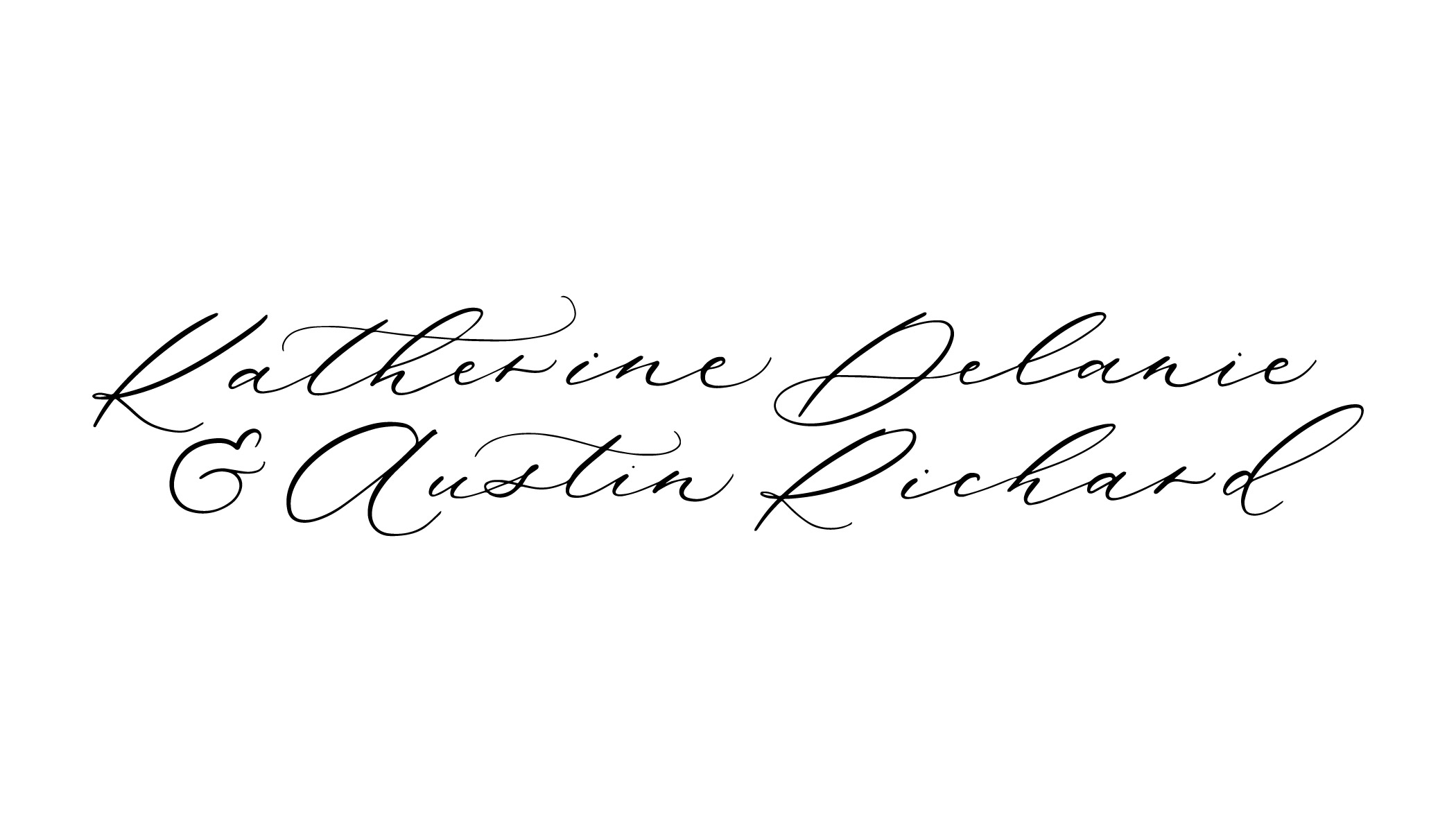 Petra Style Calligraphy by Caitlin O'Bryant Design