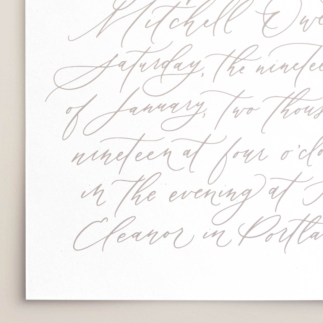 Fine Art Stationery by Caitlin O'Bryant Design.