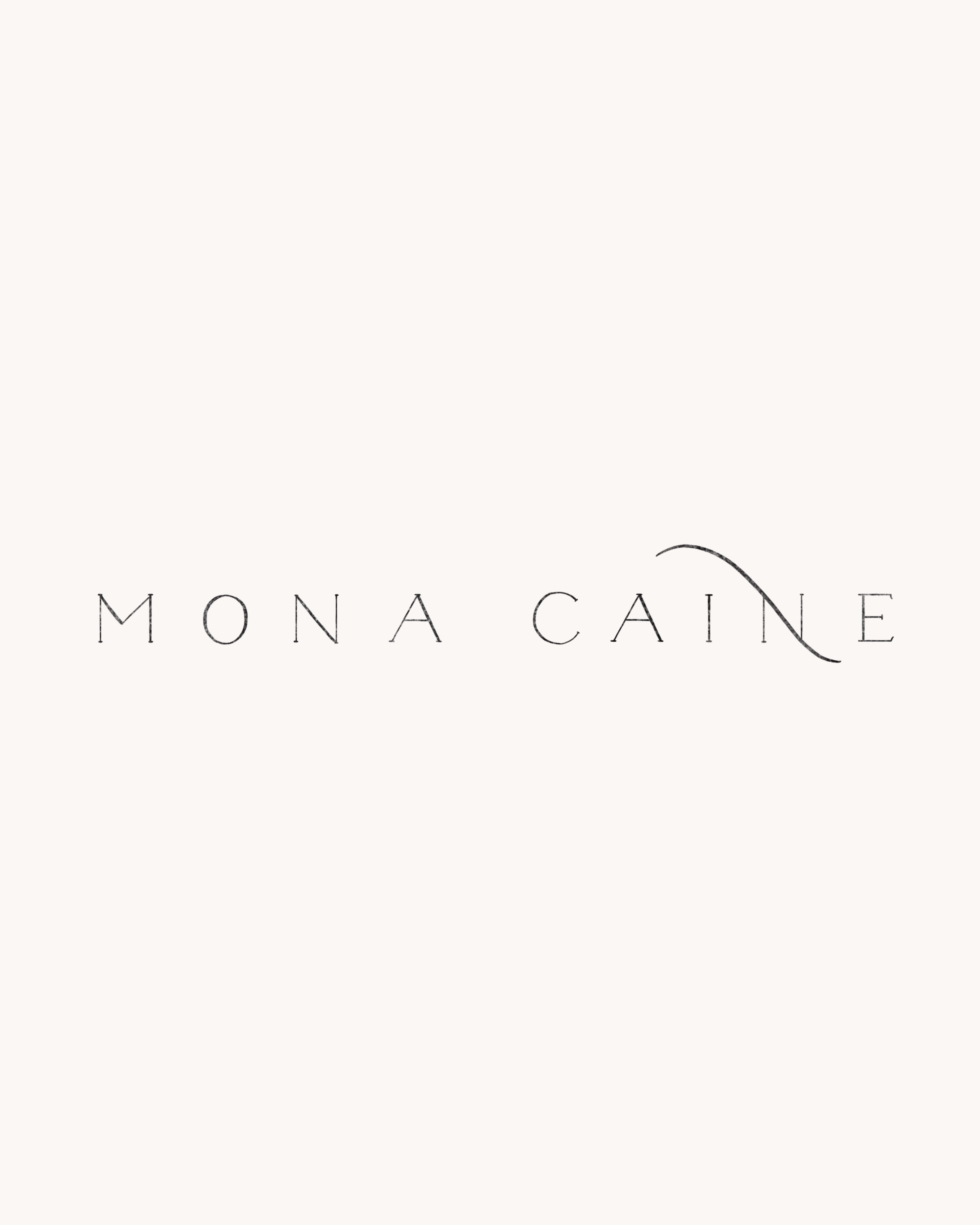 Logo for Mona Caine