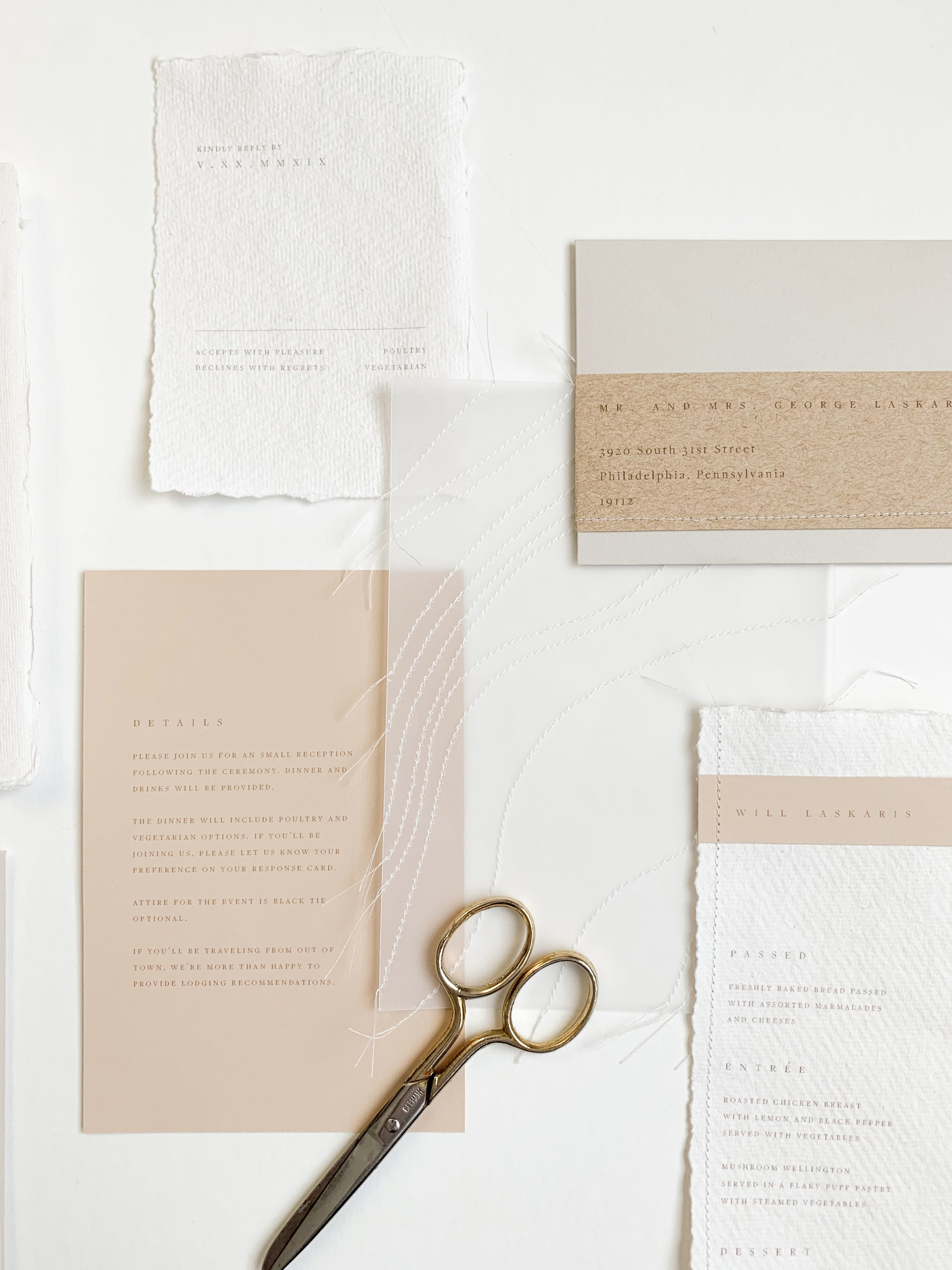 Photo and Stationery by Caitlin O'Bryant Design.