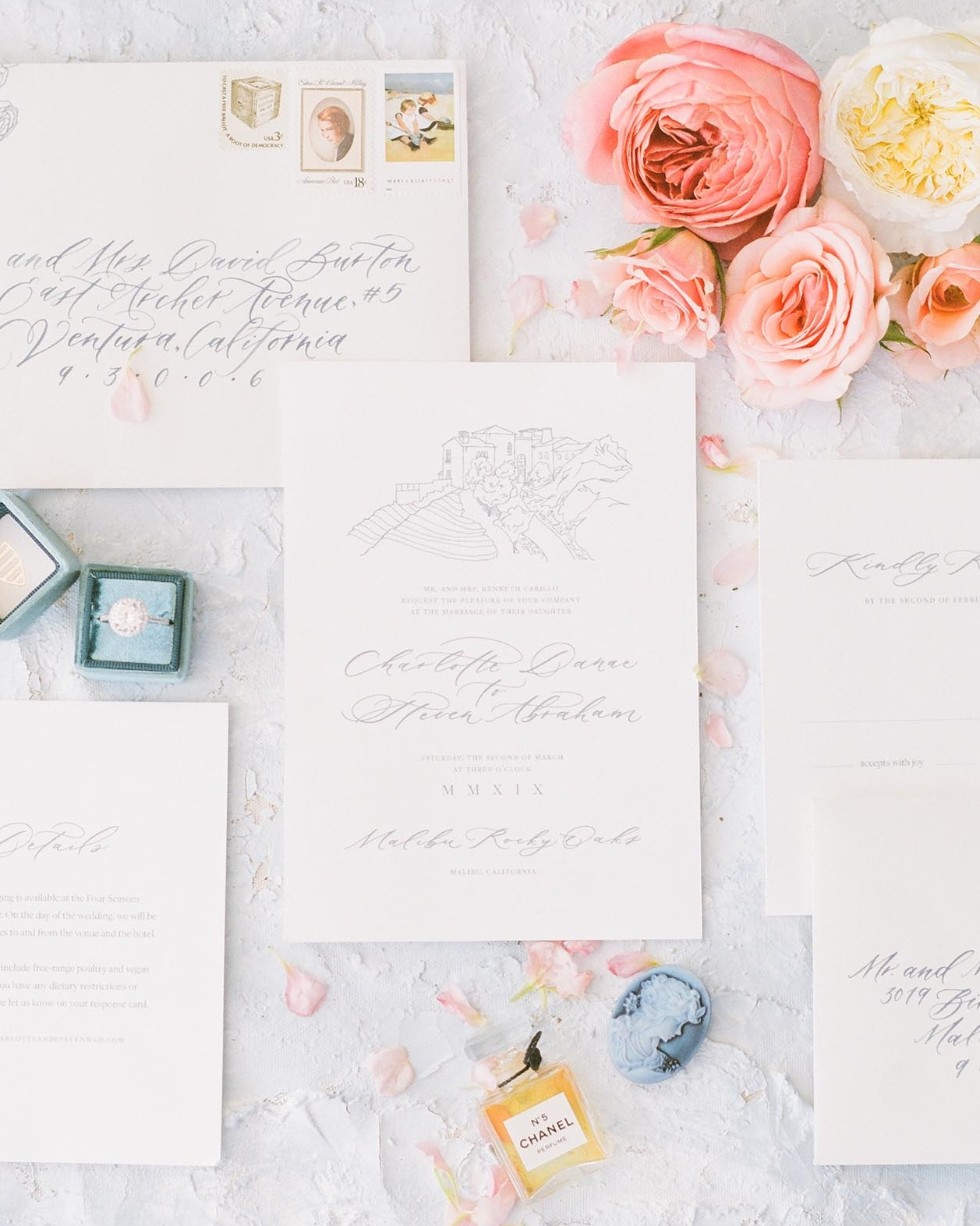 Photo by Julie Paisley. Planning by Heather Benge Events. Stationery by Caitlin O'Bryant Design.