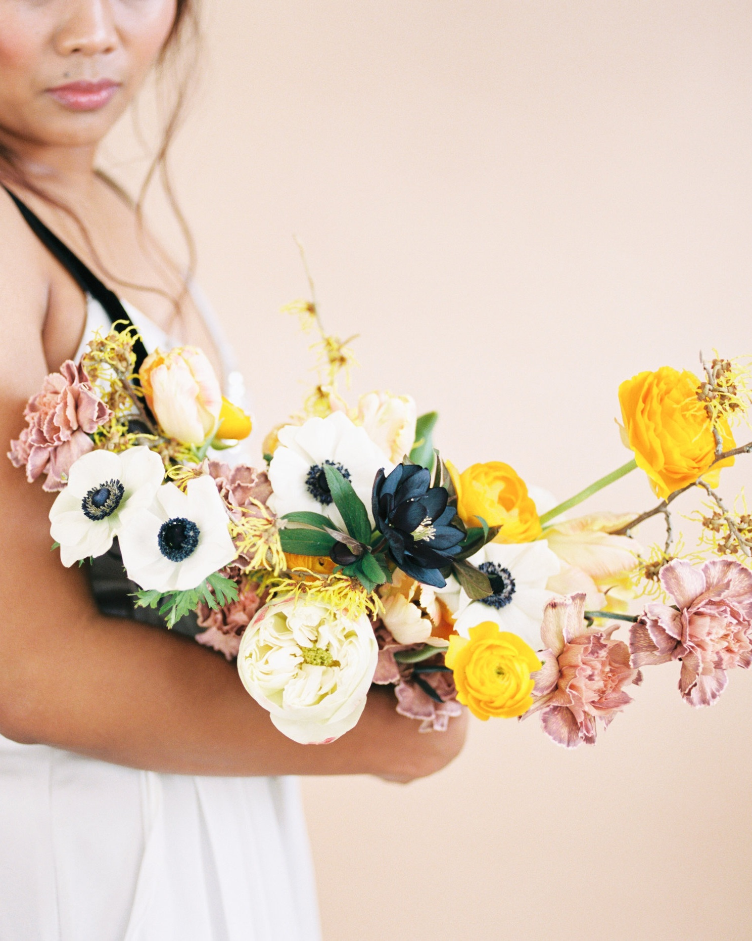 Photo by Mylyn Wood Photography. Florals by Wildflower Portland. Styling by Kamea Events.