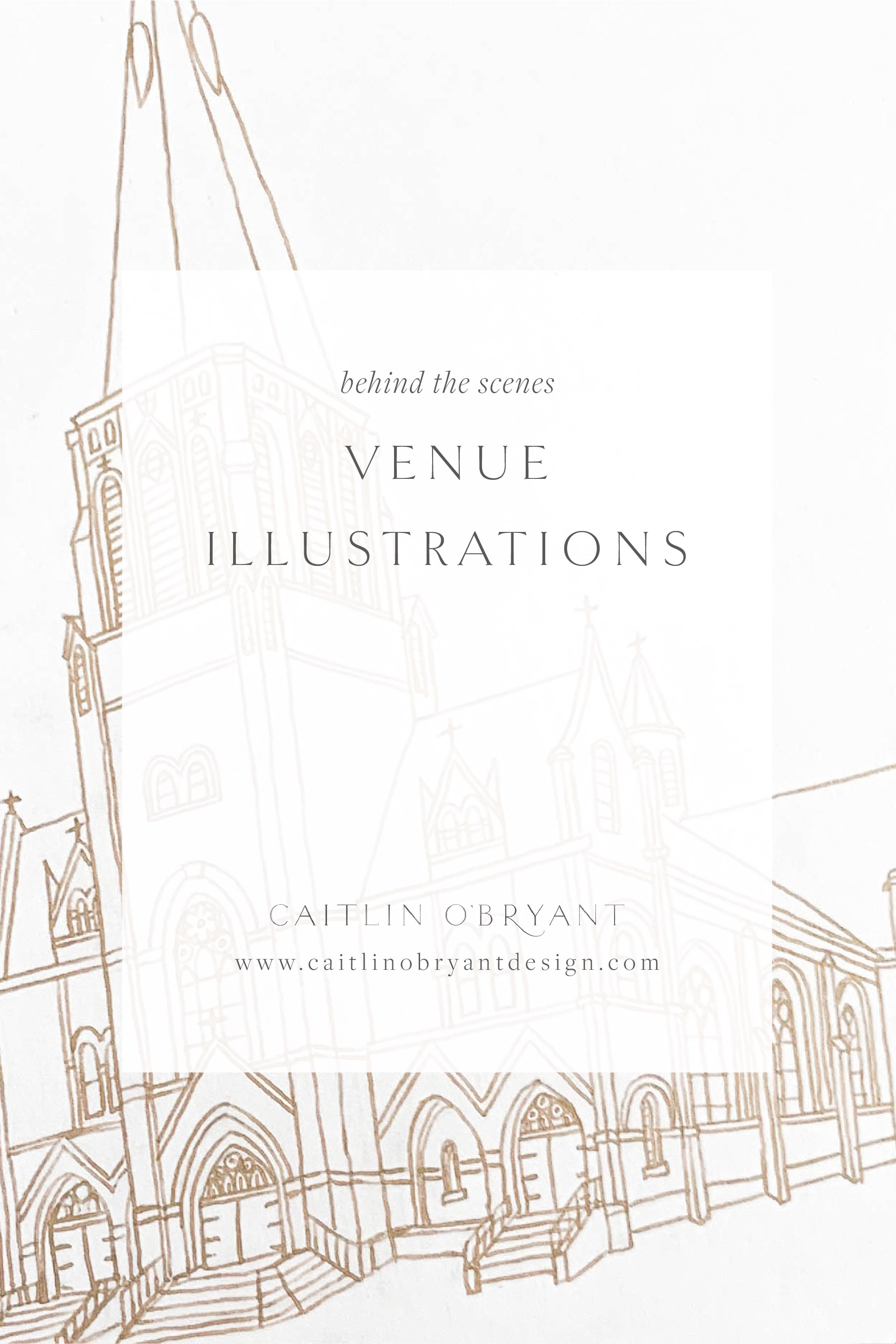 How we draw and digitize venue illustrations for wedding invitations and art prints. Luxury, high end wedding stationery and calligraphy.